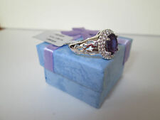 Amethyst Genuine stone 925 Sterling Silver Ring