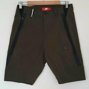 Nike Tech Woven 2.0 Khaki Tapered Shorts - Size Medium / 30 - Like New
