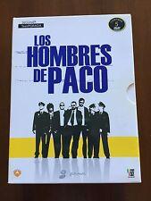 LOS HOMBRES DE PACO SEGUNDA TEMPORADA COMPLETA - 5 DVD - 1260 MIN - BUEN ESTADO