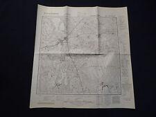 Landkarte Meßtischblatt 3661 Tirschtiegel i.d. Neumark / Trzciel, Meseritz, 1940