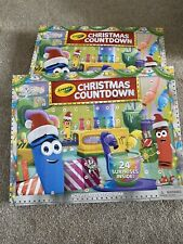 CRAYOLA ADVENT CALENDER RRP £19.  BN Only £9