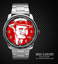AL CAPONE CHICAGO GANGSTER STEEL WATCH NEW 2020 (RARE)