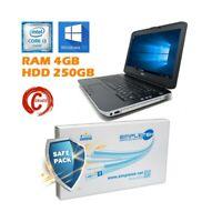"""Dell Latitude E5430 I3 3120M 14 """" RAM 4GB HDD 250GB HDMI Batterie Neuf"""
