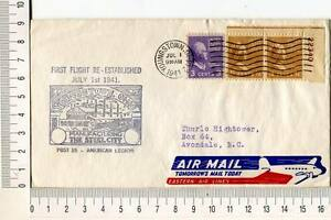 24741) USA 1.7.1941 FFC Re-estabilished Youngstown