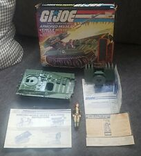 GI Joe Wolverine & Covergirl Nice Complete w / Box Broken Tow Cable 1983