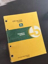 New ListingJohn Deere 2150 & 2255 Tractor Technical Manual Service Shop Book Guide Oem