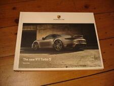 2020 Porsche 911 (992) Turbo S brochure prospekt