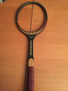 VERY RARE NEW OLD STOCK VINTAGE TENNIS RACQUET DONNAY CLASSIC PRO