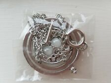 Harry Potter Rotating Spins Hourglass Time Turner  white plantium plated