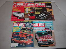 Nostalgia Magazines Car Craft and Hot Rod from the 70's