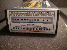 HO BRANCHLINE TRAINS 5043 CB&Q 12-1 PULLMAN SLEEPER BLUEPRINT SERIES
