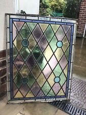 More details for leaded stained glass panel
