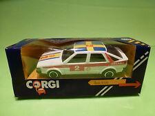 CORGI TOYS 106 SAAB 9000 - RALLY RECARO - 1:43 - RARE SELTEN - NEAR MINT IN BOX