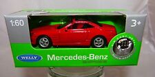 Welly Mercedes Benz SLK  rot in 1:60  Neu & OVP