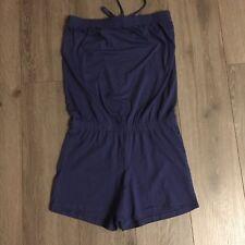 Damen Jump-Suite / Jumpsuite*Schulterfreier Anzug/Einteiler*Gr. 40/42*blau * NEU