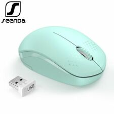 Noiseless Wireless Mouse PC Optical Mini Silent Mice Laptop 2.4G Ergonomic