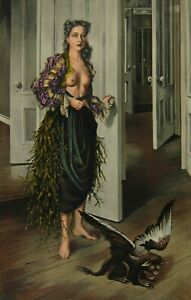 DOROTHEA TANNING - BIRTHDAY - Hand Signed and Numbered Color Lithograph (ed.150)