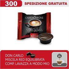 300 CAPSULE COMPATIBILI A MODO MIO BORBONE DON CARLO MISCELA RED ITALIANFEEL