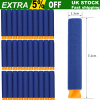 1 - 2000 Blue Bullets For NERF Guns Refill Soft Darts Fit Elite N-Strike