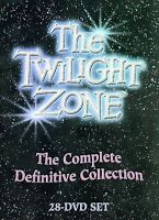THE TWILIGHT ZONE - THE COMPLETE DEFINITIVE COLLECTION DVD BRAND NEW SEALED