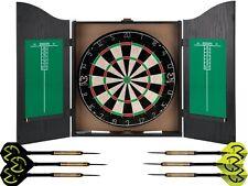MVG Dartboard + Black Darts Cabinet + Scoreboard + 6 Darts Michael Van Gerwen