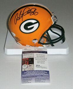 PACKERS Antonio Freeman signed mini helmet w/ #86 JSA COA AUTO Autographed