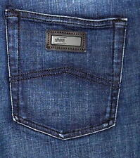 Authentic ARMANI COLLEZIONI J15 Straight Leg Men's Dark Blue Jeans Sz 30X32