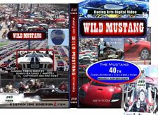 WILD MUSTANG Ford 40th DVD 1979 1980 1981 1982 1983 NEW