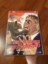 LA MORTE HA SORRISO ALL'ASSASSINO DVD (joe D'amato, Klaus Kinski)