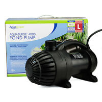 Aquasurge 4000 Pond Pump Aquascape -waterfall-water garden-Koi-submersible-motor
