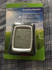 AcuRite Digital Humidity and Temperature Monitor 00325W