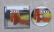 CD AUDIO PROMO / QUALISANTÉ FETE L'AN 2000 AVEC SES RÉSIDENTS CD COMPILATION 20T