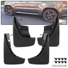 For 2011-2016 Jeep Grand Cherokee  Front & Rear Splash Guards Mud Flaps