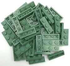 Plate Tile 1x2 With Groove NEUF NEW 8 x LEGO 3069 Plaque Lisse vert green lime