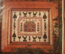 JOANNA ALLEN TAPESTRY CUSHION  CANVAS - LITTLE RED HOUSE -  PRIMAVERA B