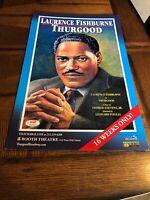 "Thurgood, Laurence Fishburne Broadway Window Card, Original 14x22"""