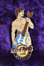 Hard Rock Café Marseille David Statue Playing Guitardine 2014, Pin #80588, LE400