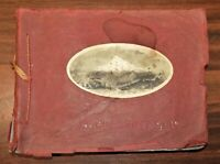 Rare view book OREGON SHORT LINE RAILROAD Barkalow 1890s trains Portland history