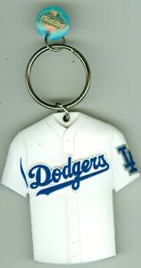 2005 Los Angeles Dodgers Jersey Rubber Key Chain Pepsi Rewards 2-1/2 inches New
