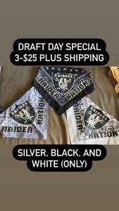 Draft Day Special Raiders (Silver Black And White Only)