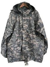 USGI ECWCS ACU Cold Weather Gore Tex Universal Camouflage Parka Large Regular