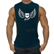 New Fashion Men Cotton Muscle Vest Gym Clothing Fitness Workout Tank Tops