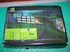 Nuevo Nvidia NVS 300 512 MB PCI-E x1 Tarjeta de monitor dual + cables