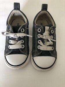 Converse Unisex Toddler Size 7 Blue Grayish Sneakers