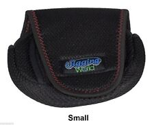 Jigging World Small Spinning Reel Cover.  Protect your reels while traveling!