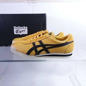 Size 11 Men's Onitsuka Tiger Corsair Sneakers 1183A357-750 Tiger Yellow/Black
