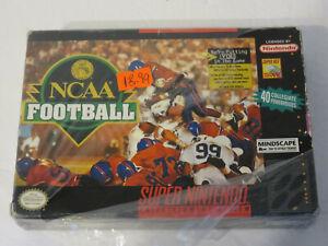 NCAA FOOTBALL MINDSCAPE 1994 SUPER NINTENDO SNES GAME NEW & SEALED