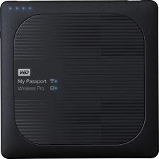 WD - My Passport Wireless Pro 2TB External USB 3.0 Portable Hard Drive - Black