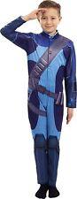 BOYS NEW ITV THUNDERBIRDS FANCY DRESS OUTFIT SCOTT TRACY DRESS UP COSTUME 5+