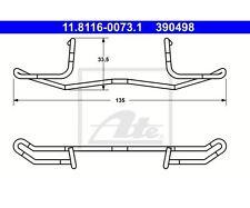 ATE 11.8116-0073.1 Feder, Bremssattel   für Volvo S70 V70 I 850 Kombi 850